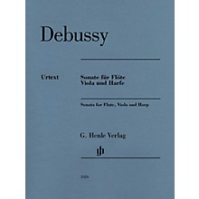 G. Henle Verlag Claude Debussy - Sonata for Flute, Viola and Harp Henle Music by Claude Debussy Edited by Peter Jost