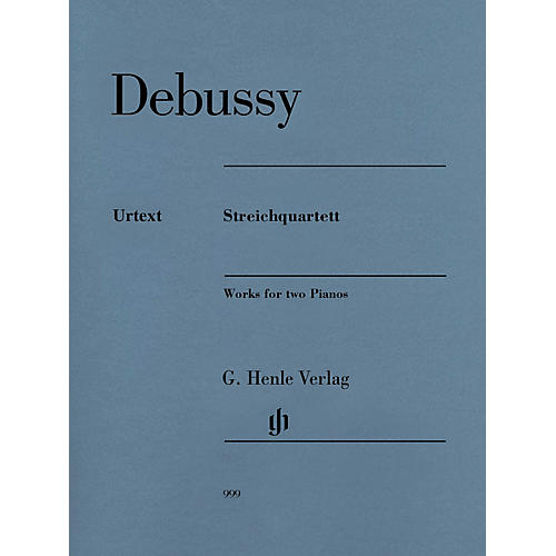 G. Henle Verlag Claude Debussy - String Quartet Henle Music Folios Composed by Claude Debussy Edited by Ulrich Krämer