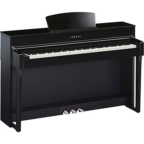 yamaha clavinova clp635 console digital piano with bench guitar center. Black Bedroom Furniture Sets. Home Design Ideas