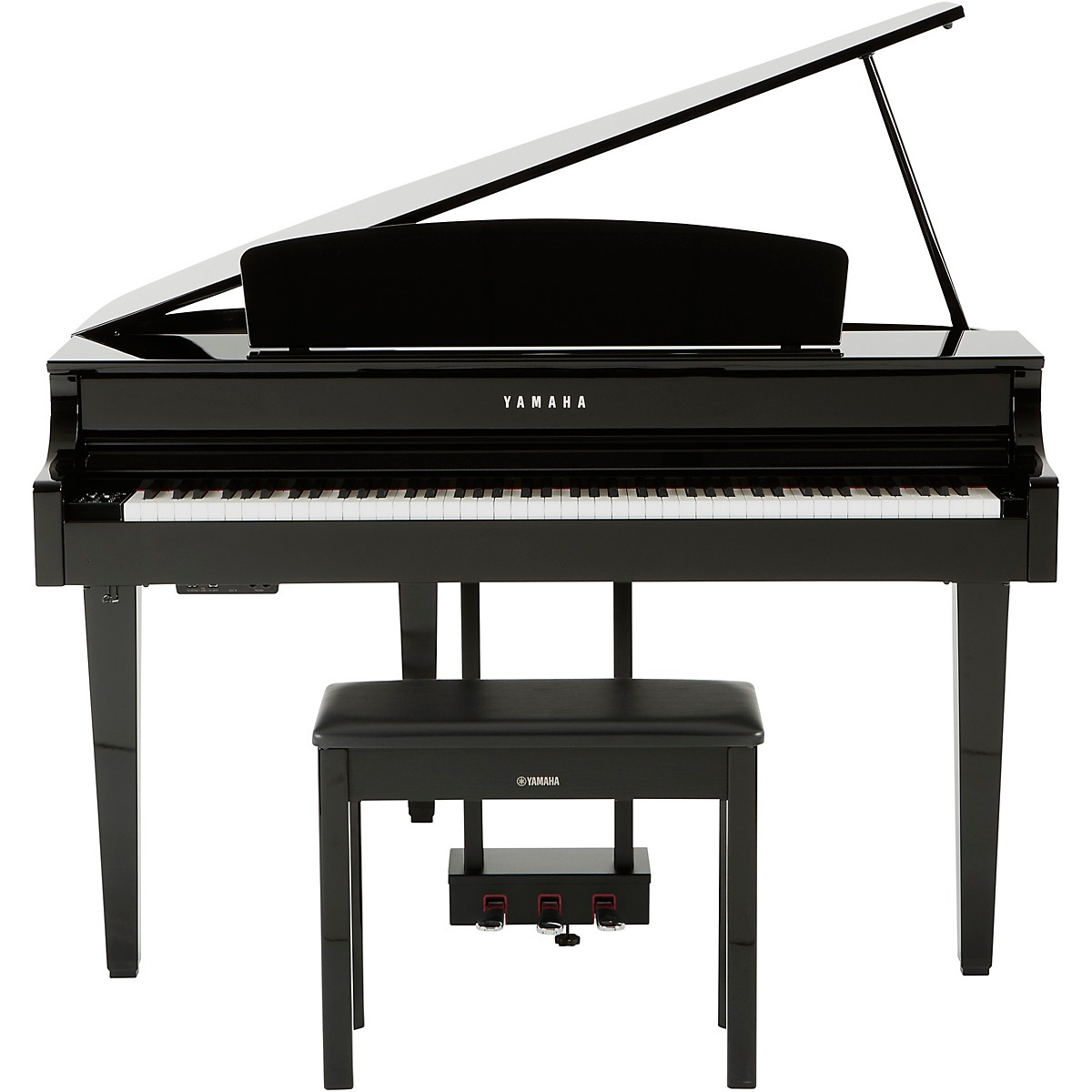 Yamaha Clavinova CLP665 Digital Grand Piano with Bench