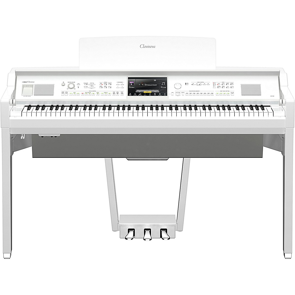 Yamaha Clavinova CVP-809 Console Digital Piano with Bench