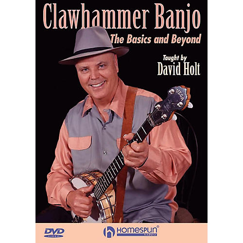 Homespun Clawhammer Banjo: The Basics And Beyond DVD