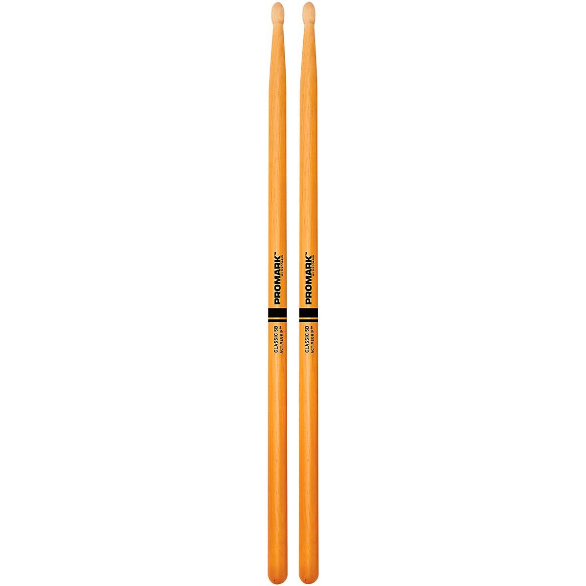 Promark Clear ActiveGrip Drumsticks
