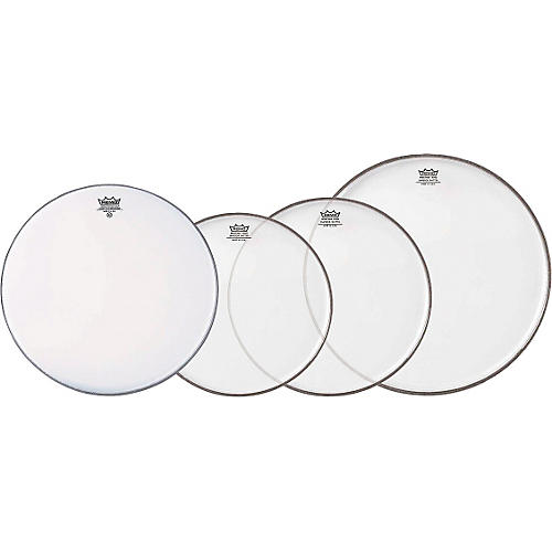 Remo Clear Emperor Standard Pro Pack with Free 14 in. Coated Emperor Snare Drum Head