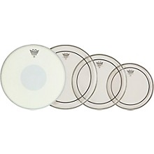 Remo Clear Pinstripe Fusion Pro Pack with Free 14 in. Emperor X Snare Drum Head