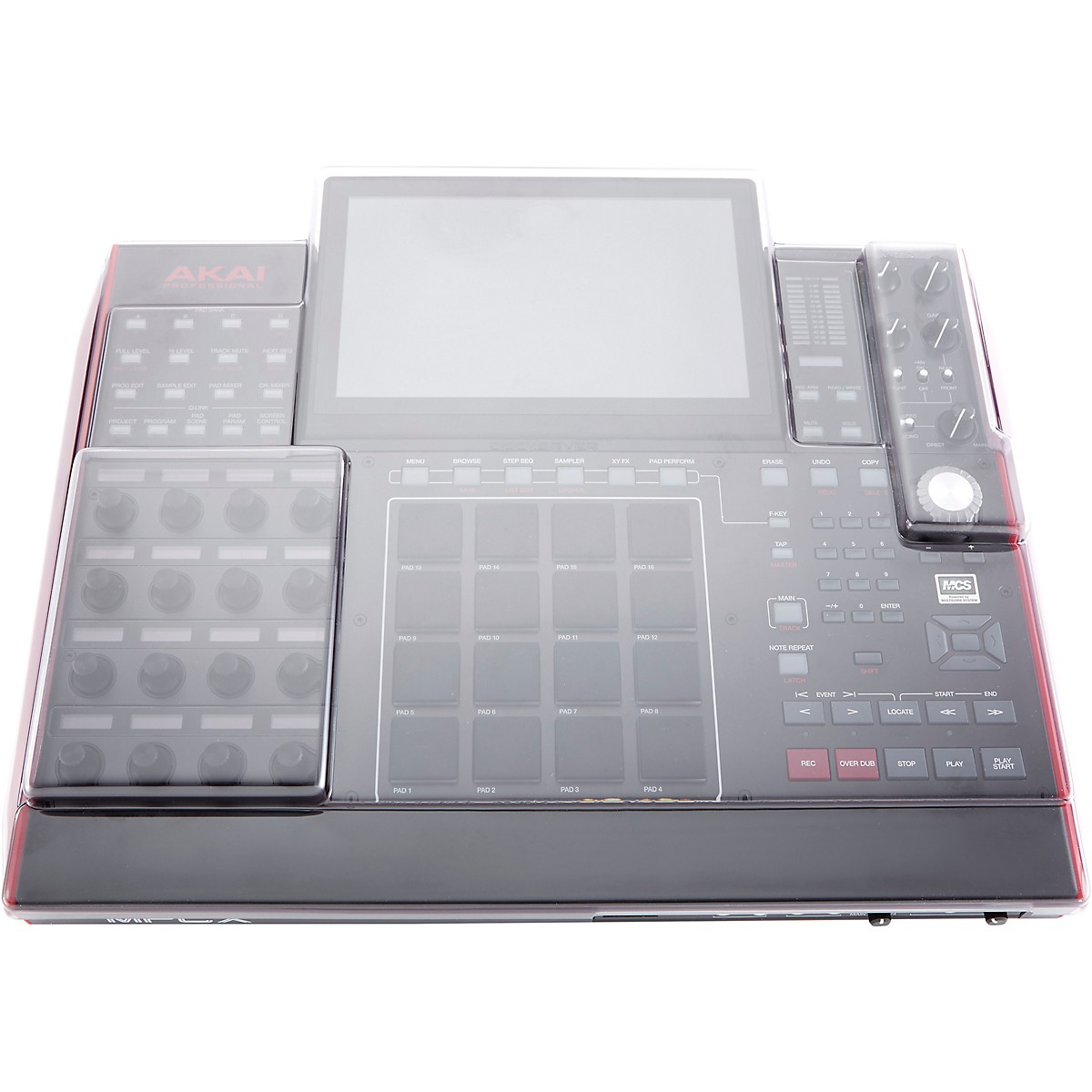 Decksaver Clear Polycarbonate Cover for Akai MPC X Sequencer