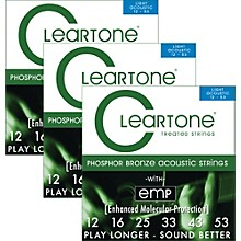 Cleartone Cleartone Coated Light Acoustic Guitar Strings Buy 2 Get One Free