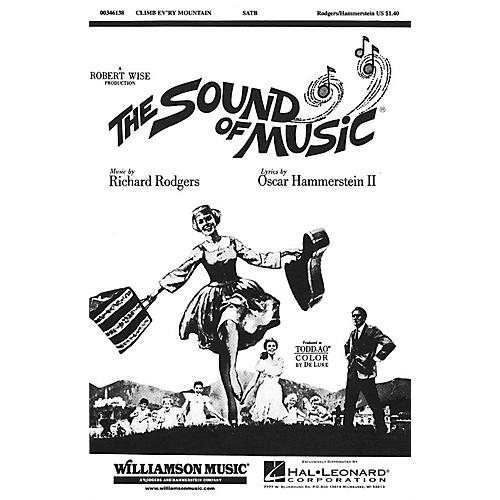Hal Leonard Climb Ev'ry Mountain (from The Sound of Music) SATB arranged by Charles Smith