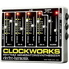 electro harmonix clockworks guitar pedal controller guitar center. Black Bedroom Furniture Sets. Home Design Ideas