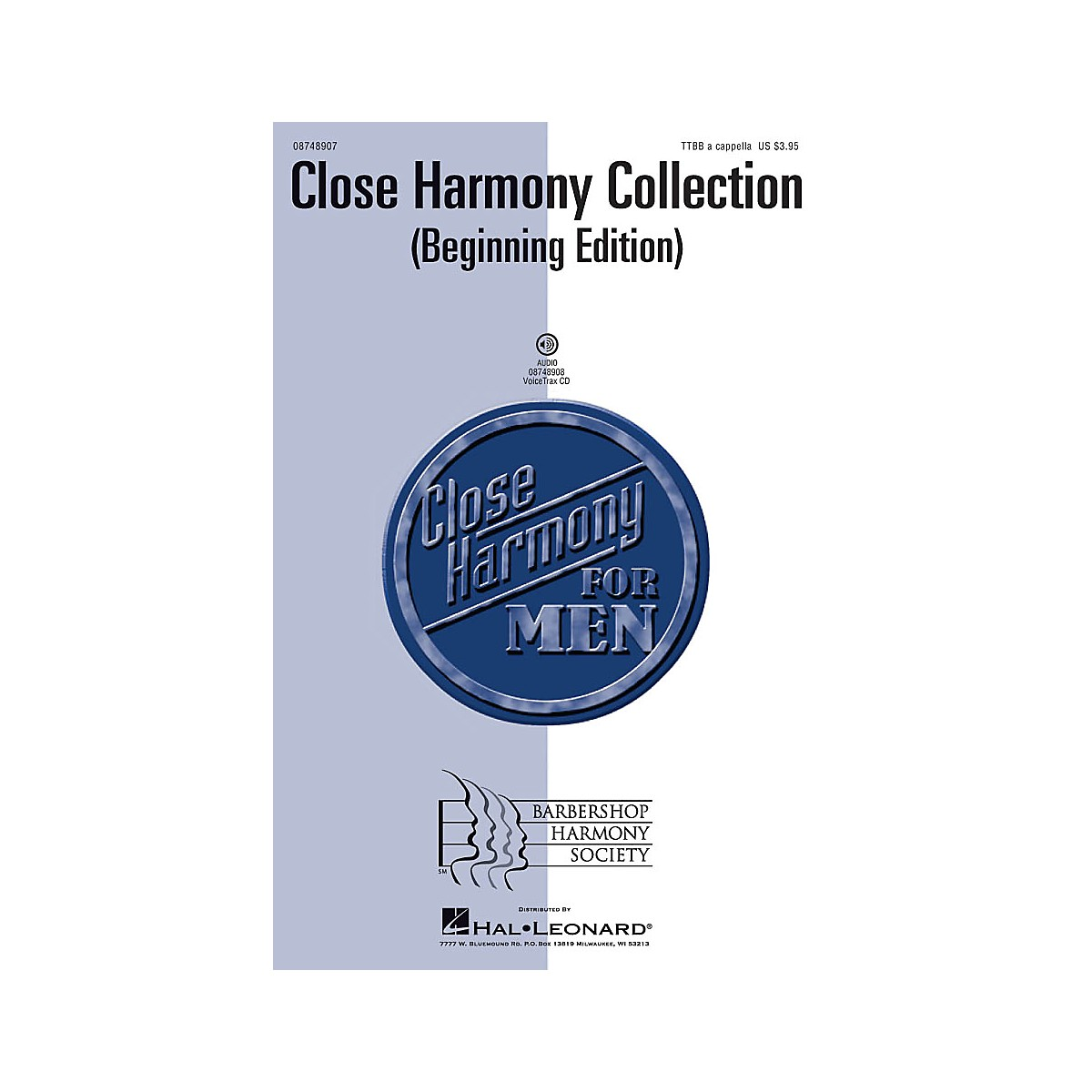 Hal Leonard Close Harmony Collection (Beginning Edition) TTBB
