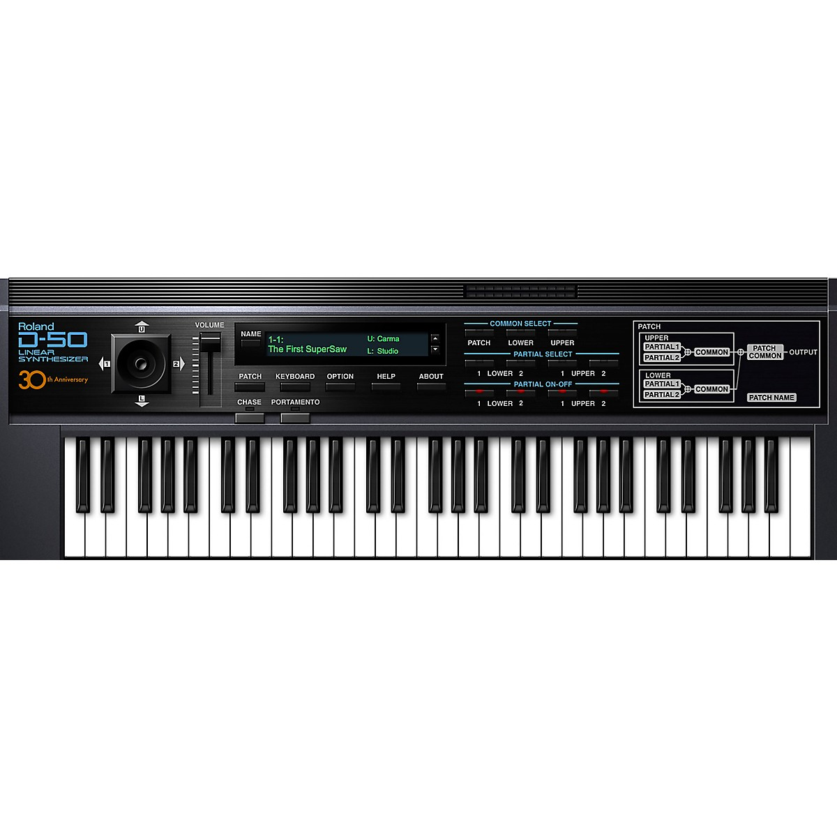 Roland Cloud Cloud D-50 Software Synthesizer (Download)
