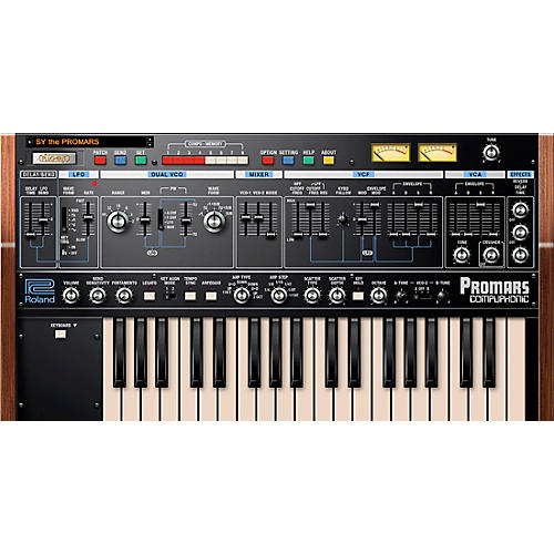 Roland Cloud Cloud PROMARS Software Synthesizer (Download)