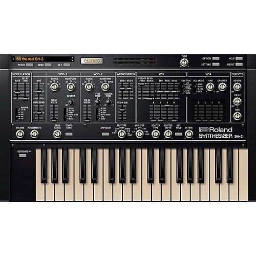 Roland Cloud Cloud SH-2 Software Synthesizer (Download)