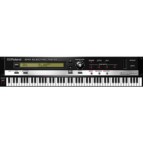 Roland Cloud Cloud SRX ELECTRIC PIANO Software Synthesizer (Download)
