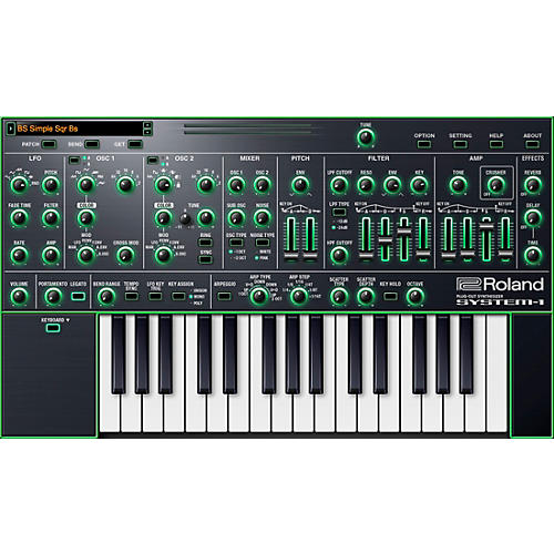 Roland Cloud Cloud SYSTEM-1 Software Synthesizer (Download)