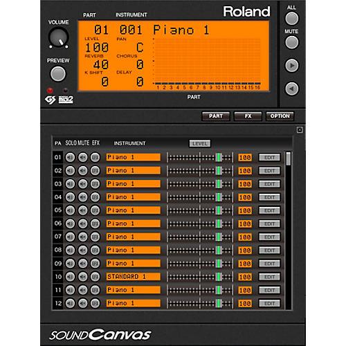 Roland Cloud Cloud Sound Canvas VA Software Synthesizer (Download)