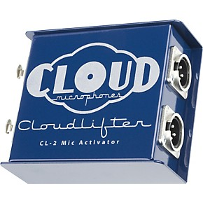 cloud cloudlifter cl 2 phantom powered gain booster for dynamic and ribbon mics guitar center. Black Bedroom Furniture Sets. Home Design Ideas