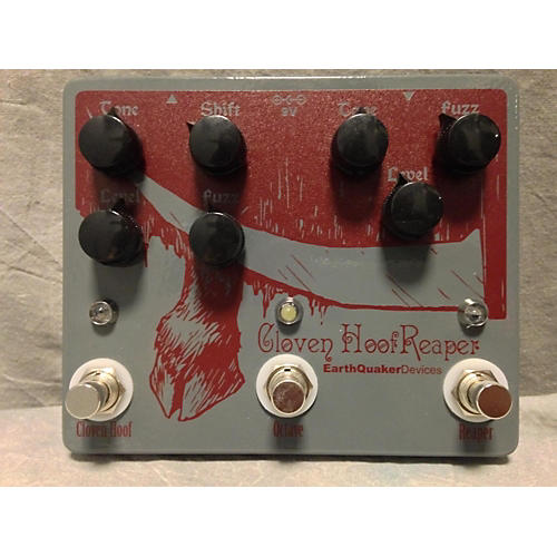 EarthQuaker Devices Cloven Hoof Reaper Effect Pedal