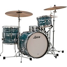Club Date 3-Piece Downbeat Shell Pack with 20 in. Bass Drum Blue Strata