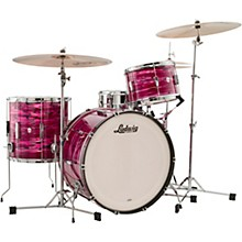 Club Date 3-Piece Pro Beat Shell Pack with 24 in. Bass Drum Ruby Strata