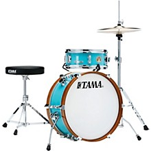 Club-JAM mini 2-Piece Shell Pack with 18 in. Bass Drum Aqua Blue