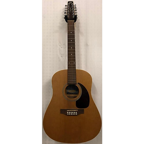 used seagull coastline s12 12 string acoustic guitar natural guitar center. Black Bedroom Furniture Sets. Home Design Ideas