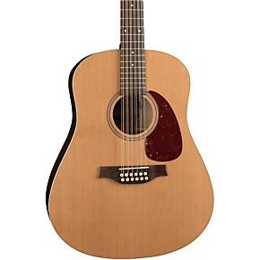 seagull coastline series s12 dreadnought 12 string acoustic guitar guitar center. Black Bedroom Furniture Sets. Home Design Ideas