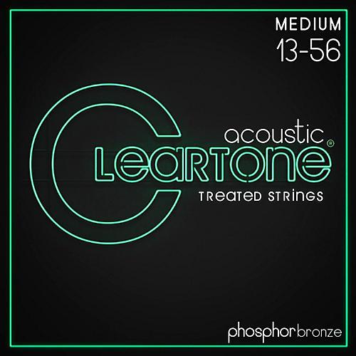 Cleartone Coated Phosphor-Bronze Medium Acoustic Guitar Strings
