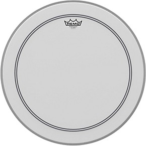 remo coated powerstroke 3 bass drum head 18 in guitar center. Black Bedroom Furniture Sets. Home Design Ideas