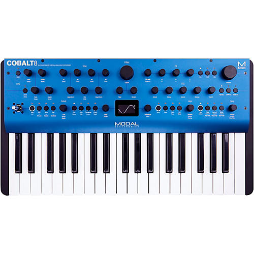 Modal Electronics Limited Cobalt8 37-Key 8 Voice Extended Virtual Analog Synthesizer