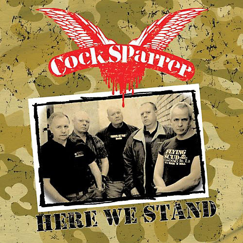 Alliance Cock Sparrer - Here We Stand