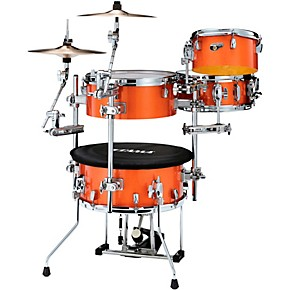 TAMA Cocktail-JAM 4-Piece Shell Pack with Hardware Bright Orange Sparkle
