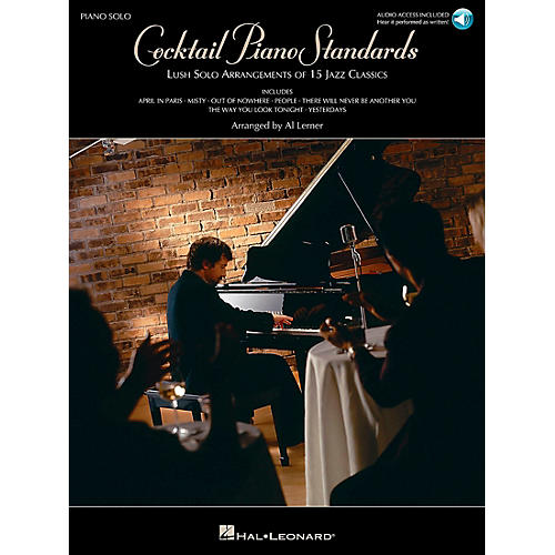 Hal Leonard Cocktail Piano Standards Book/CD Piano Solos
