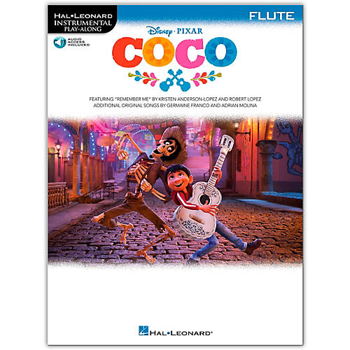 Hal Leonard Coco For Flute - Instrumental Play-Along (Book/Audio Online)