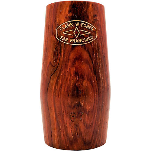 Clark W Fobes Cocobolo Rubber-Lined Clarinet Barrel