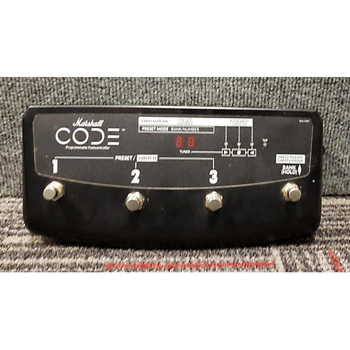 Marshall Code Programmable Foot Controller Pedal