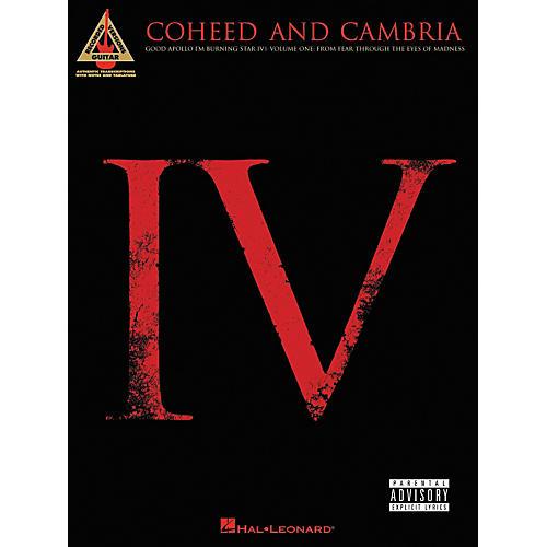 Hal Leonard Coheed and Cambria Good Apollo I'm Burning Star IV Volume 1 Guitar Tab Songbook