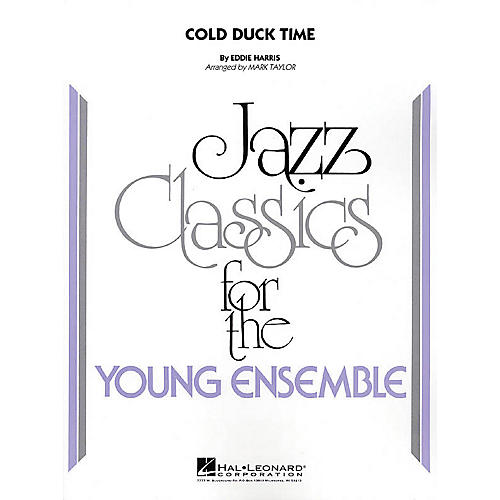 Hal Leonard Cold Duck Time Jazz Band Level 3 Arranged by Mark Taylor