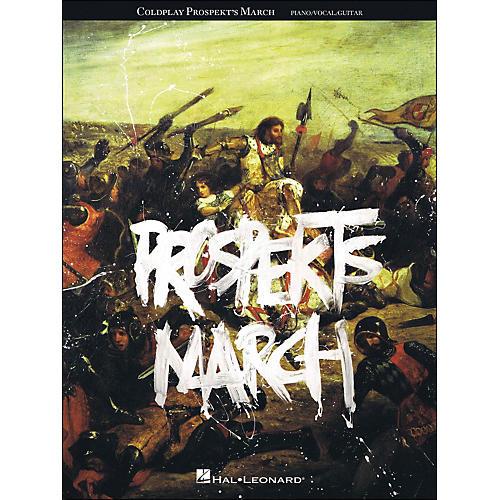 Hal Leonard Coldplay - Prospekts March arranged for piano, vocal, and guitar (P/V/G)