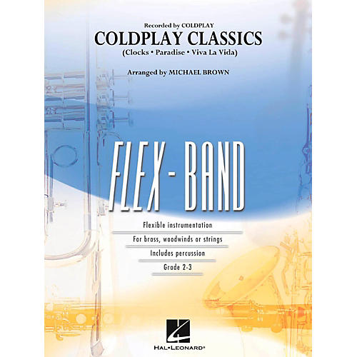 Hal Leonard Coldplay Classics Concert Band Flex-Band Series