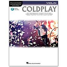 Hal Leonard Coldplay For Violin - Instrumental Play-Along Book/Online Audio