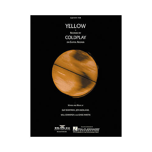Hal Leonard Coldplay: Yellow Guitar (Sheet Music)