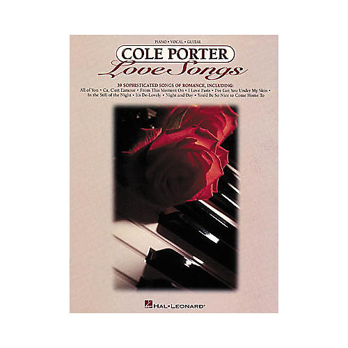 Hal Leonard Cole Porter Love Songs Piano, Vocal, Guitar Songbook