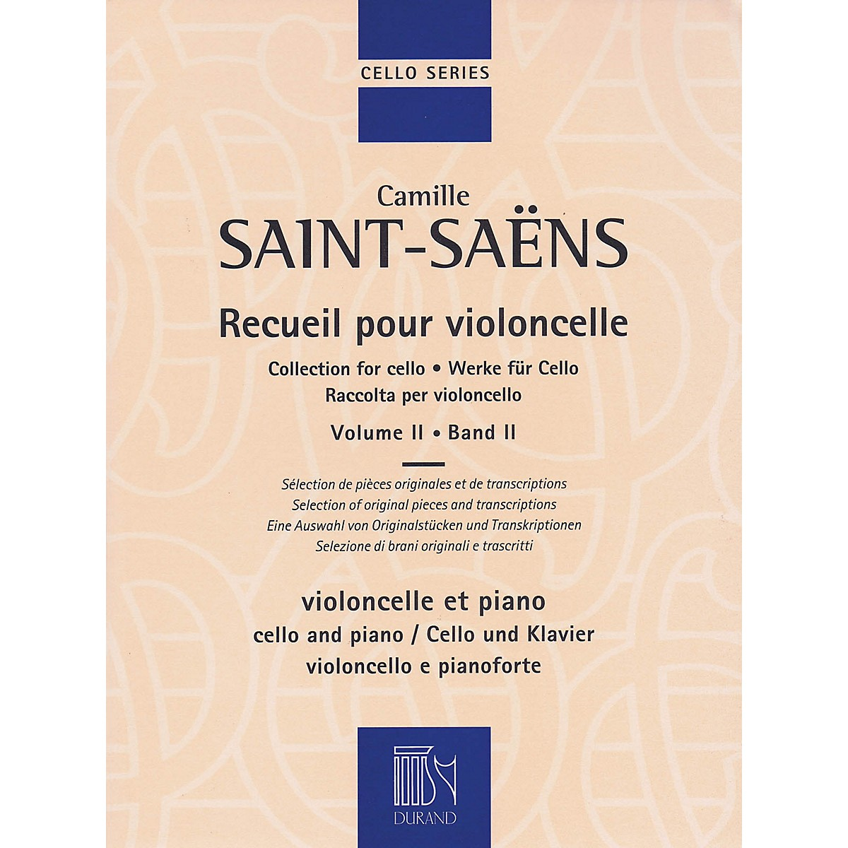 Durand Collection for Cello - Volume 2 MGB Series Softcover