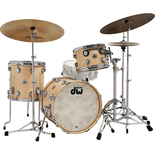 DW Collector's Series 3-Piece Satin Oil Shell Pack with Chrome Hardware