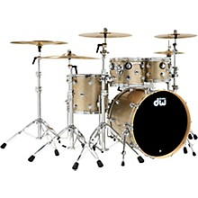 Collectors Series 4-Piece SSC Maple Shell Pack with Chrome Hardware Nickel Sparkle Glass