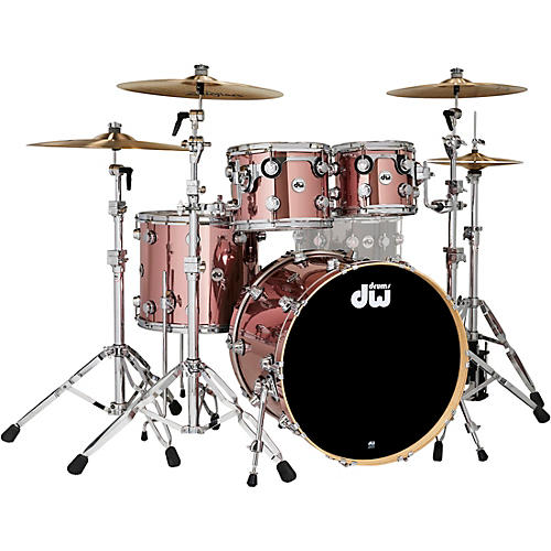DW Collectors Series 4-Piece SSC Maple Shell Pack with Chrome Hardware