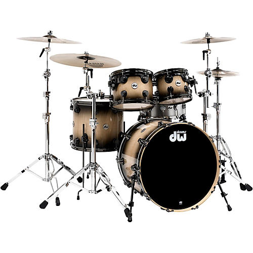 Dw Collector S Series 4 Piece Shell Pack Candy Black Burst