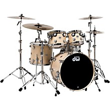Collector's Series 4-Piece Shell Pack Natural Maple Chrome Hardware