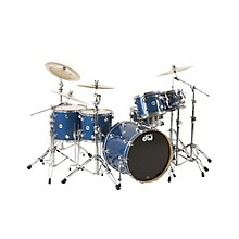 Collector's Series 5-Piece Shell Pack Blue Glass Chrome Hardware